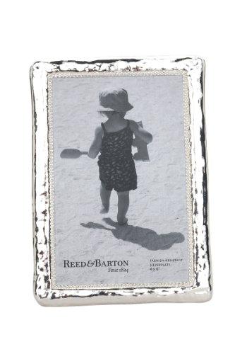 Reed & Barton Bennett Silver Plate Picture Frame, 4 by 6-Inch (Dinnerware Bennett)