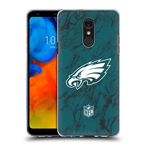 d Marble 2018/19 Philadelphia Eagles Soft Gel Case for LG Q Stylus/Q Stylo 4 ()