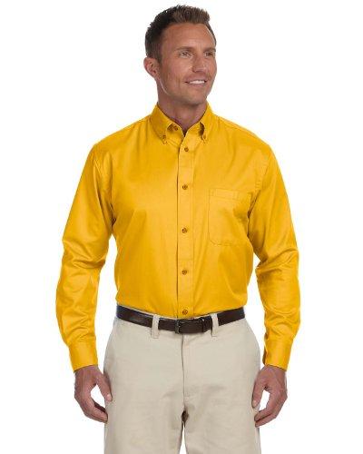 Toy Story Little Bo Peep Costumes Pattern - Harriton Men's Long-sleeve Twill Dress