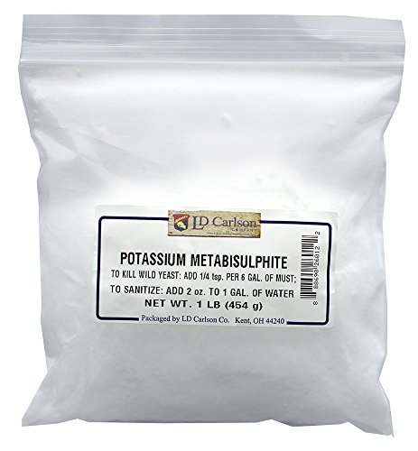 Price comparison product image Potassium Metabisulfite - 1 lb.