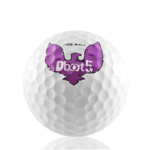 Paquete de 12 Dbot5 SupaFly Eagle Triple Core Golf Ball 12