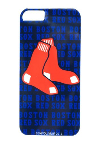 MLB Boston Red Sox iPhone 5 Graphics Snap on (Sox Mlb Pattern)