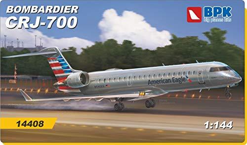 Big Planes Kits BPK 14408 - Bombardier CRJ-700 American Eagle Company 1/144 Scale Model kit
