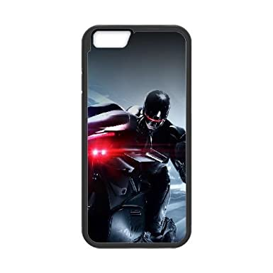 Robocop 2014 Riding Motorcycle Iphone 6 4 7 Inch Cell Phone Case