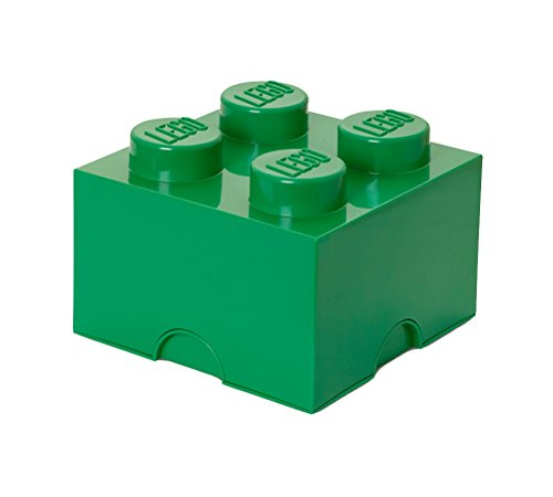 LEGO Dark Green Storage Brick 4 Children's Toy Box