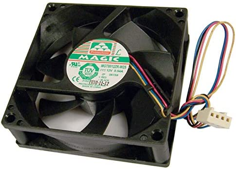 HP Magic 12v 0.54a 80x25mm 4-Wire Fan New MGT8012ZR-W25 4-Pin Protechnic