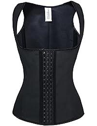 Women's Latex Underbust Waist Training Steel Boned Shapewear Corset