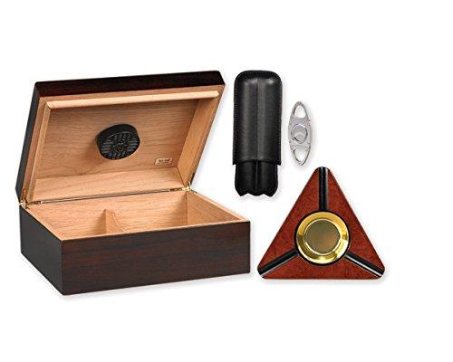 Quality Importers Humidor Starter Kit, Capri (Quadrant Kit)