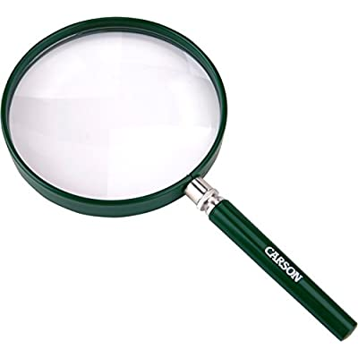 Carson BigEye Magnifier with Over-sized 5-Inch Lens (HU-20): Sports & Outdoors