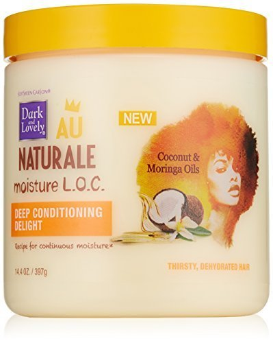 SoftSheen-Carson Dark and Lovely Au Naturale Moisture L.O.C. Deep Conditioning Delight, 14.4 oz by Dark & Lovely (Dark And Lovely Au Naturale Deep Conditioning Delight)
