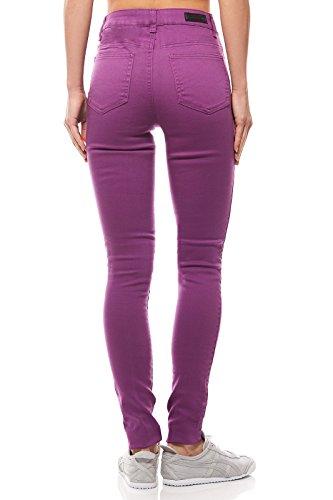 Legging Jute 5 W Pantalon Poche pour Femme Violet M R Just Pieces qx5vYY
