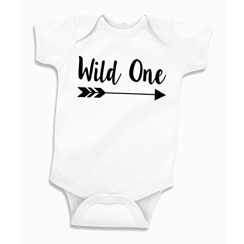 Bump And Beyond Designs Baby Boy Birthday Shirt Wild One First Outfit
