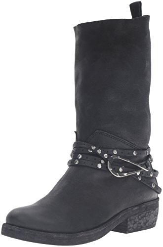 Dolce Vita Women's Joss Motorcycle Boot Black