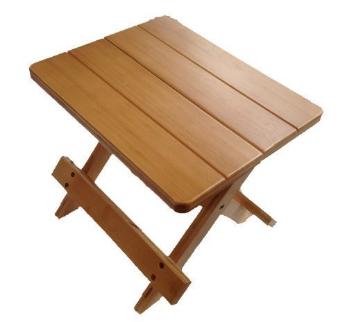 Klapphocker holz  Wooden Folding Stool, Flower Stand: Amazon.co.uk: Kitchen & Home