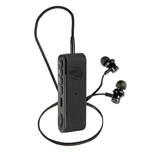 Renewed  Zebronics Faith Portable Bluetooth Headset with Mic  Black