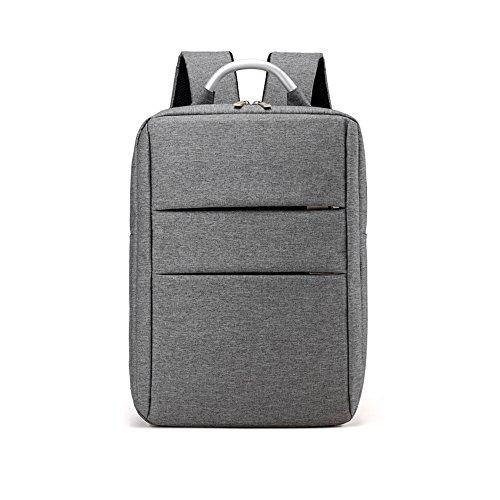 xiaodiu Neue Schultertasche Korean Casual Rucksack Einfache 15,6Notebook Rucksack Fashion Rucksack, Violett