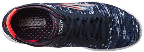 Skechers Go Step, Baskets Basses Femme bleu (NVCL)