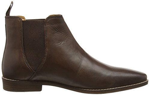 Formal Red Brown Boot Tape Mens Tapton pWFWaHg