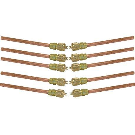 REPORSHOP 10 OBUS Valvula Carga 1//4 Gas Tubo REFRIOGERACION CONGELADOR Nevera