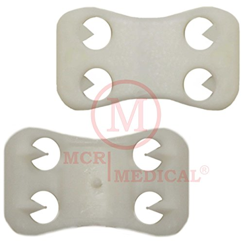 Replacement Clips for Elastic Bandages, Plastic (Pack of 50), MCR Medical