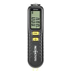 Thickness Gauge, KKmoon GY910 Handheld Digital Coating Thickness Gauge Tester Fe/NFe Coatings LCD Display