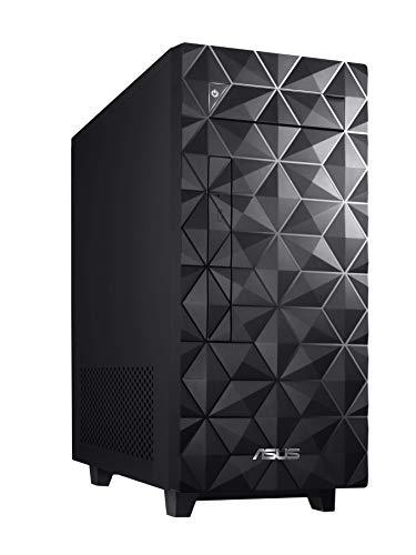 ASUS S340MF Desktop PC, Intel Core i5-9400, 8GB DDR4 RAM, 512GB PCIe SSD, Windows 10 Home, Black – S340MF-DS501