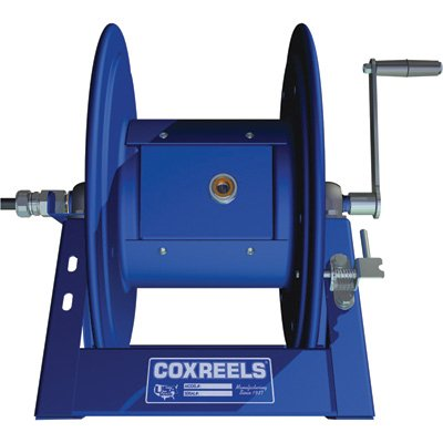 Coxreels 1125PCL-8-E Electric 12V DC 1/3HP Motor Rewind Cord Reel: 12 AWG, 3 Conductors, 250' cord capacity, less cord, 600V, 30 AMPS