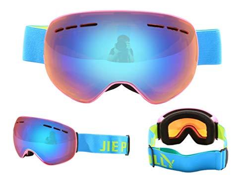 Seguridad De Beydodo Rosa Antivaho Antiviento Ciclismo Unisex Naranja Esqui Gafas Protectoras Hombre 0wqAwfO