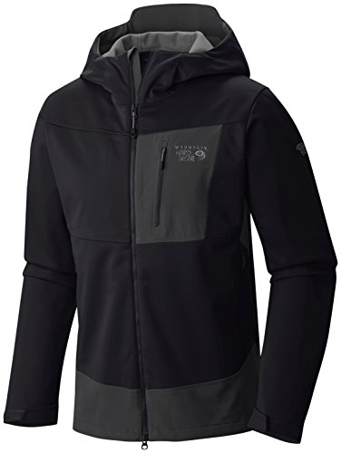Mountain Hardware Dragon Hooded Jacket - Men's Black X-Large