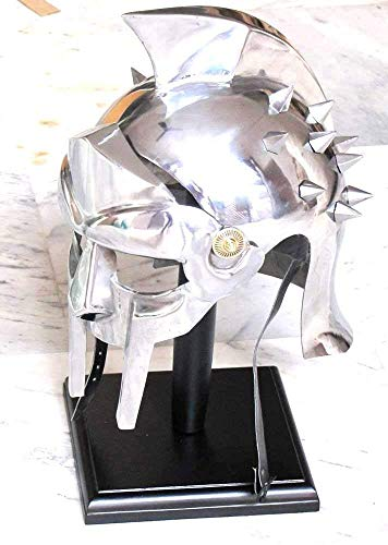 Helmet - Gladiator (Maximus Decimus Meridius) Medieval Functional Helmet of The Spaniard Maximus Roman Gladiator -