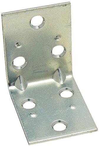 Stanley Hardware N285-528 285528 2 inch Zinc Double Wide Corner Brace