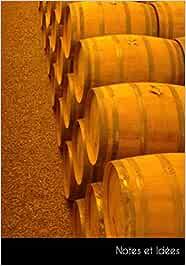Notes et Idées: Carnet de notes | journal de balle barils d'or whisky bois | format A5, pointillé. Durable et neutre pour le climat.