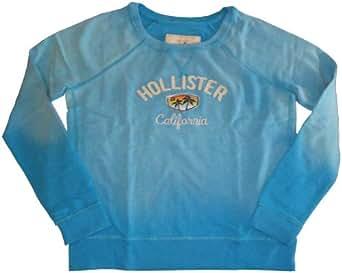 Women's / Girl's Hollister Sweatshirt Turquoise Size Large
