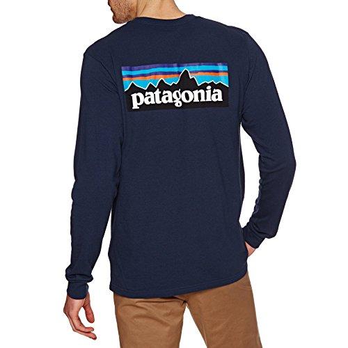 重なるセクション羊patagonia パタゴニア M's Long-Sleeve P-6 Logo Responsibili-Tee Mens カットソー 18-19 秋冬 (CNY):39161