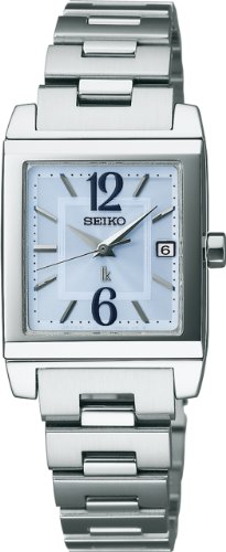 SEIKO LUKIA Reinforced waterproof (10 atm) super clear coating sapphire glass solar calendar Women's Watch SSVN009 [Japan Import]
