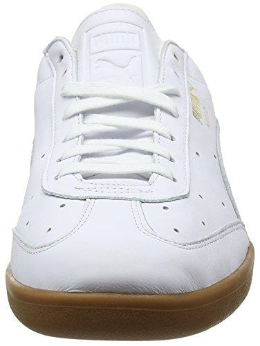 Adulte Puma Gold Madrid Puma Sneakers Team Basses White Blanc puma Premium Mixte aXdaPqHx0n