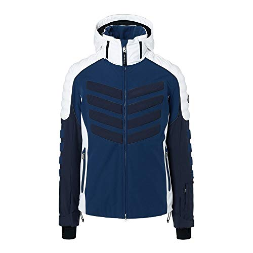 Veste De Ski Bogner Liam Ski Jacket in Navy Blue White