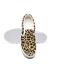 Leopards Tropical Leaves Ladies Sneakers for Women New Quick-Drying Best Running Shoes
