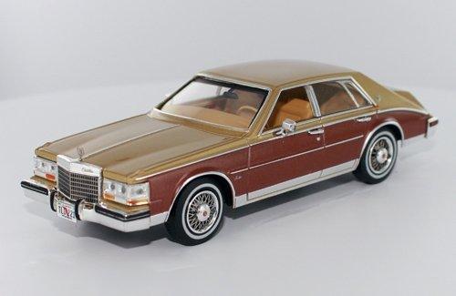 1/43 キャデラック セビル エレガンテ 1980 ゴールド/ブラウン PRD0110