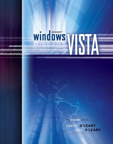 Windows Vista Brief Edition (O'leary Series)