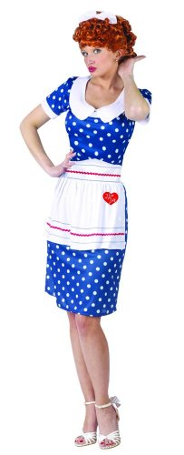 I Love Lucy Sassy Adult Costume - (Plus Size I Love Lucy Costumes)