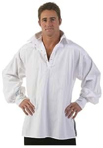Fun Costumes unisex-adult Men's White Renaissance Shirt