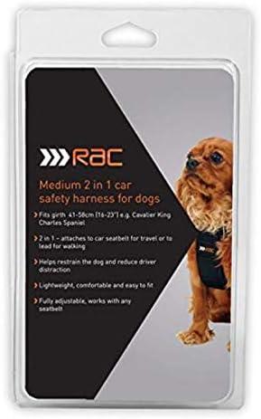 Powertec Baumarkt Direkt Hunde Sicherheitsgurt Rac Sicherheitsgurt Größe M M Schwarz Auto