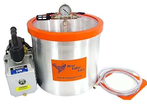 5 Gallon Best Value Vacs Aluminum Vacuum Chamber with for sale  Delivered anywhere in Canada
