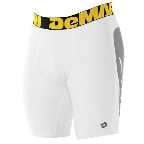 Demarini Mens Torq-D Slider Shorts X-Large White X-Large by DeMarini