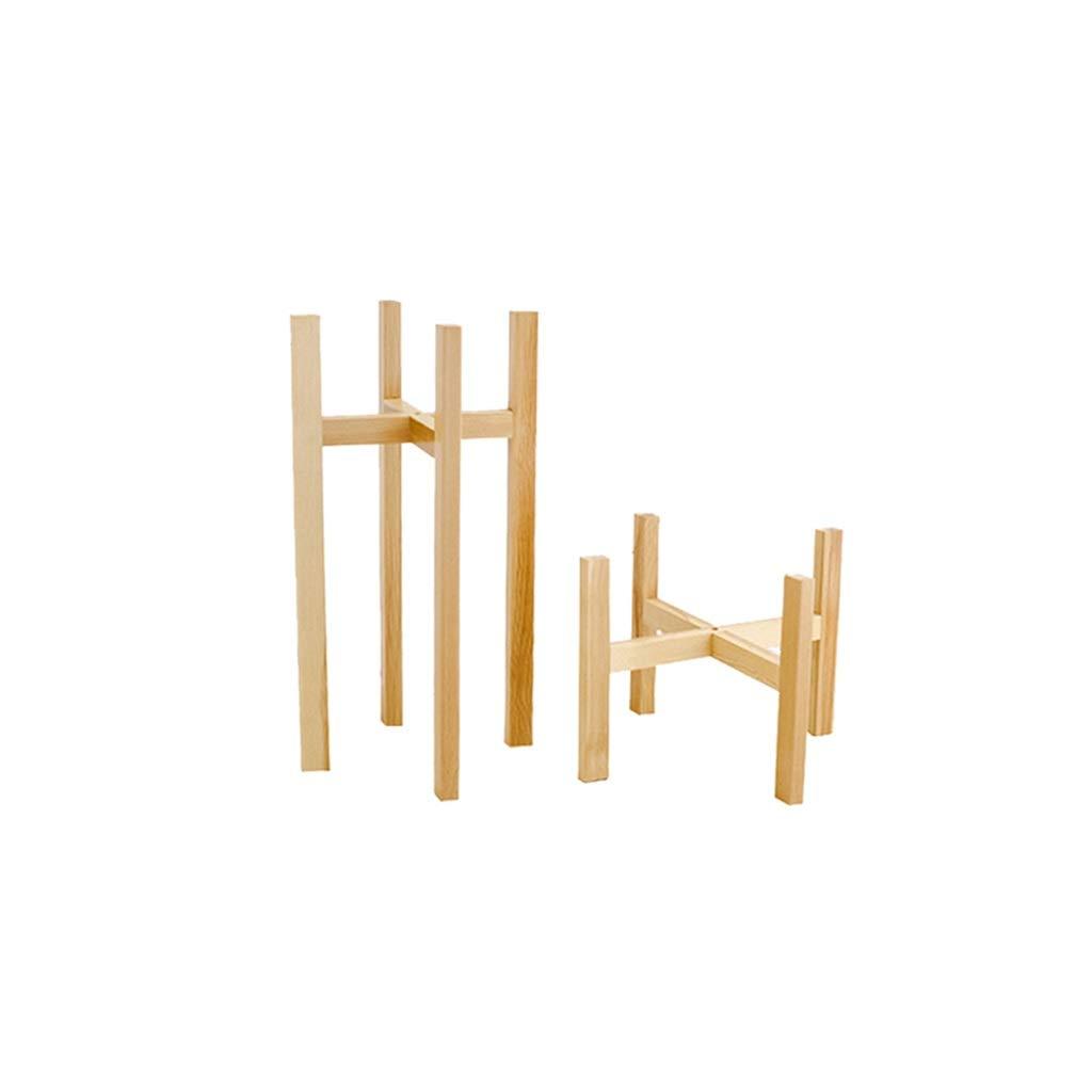 confortevole QXX Moderno Basamento a 2 Pezzi per per per Piante, portaoggetti da Tavolo in Legno Portatile con portavaso per Balcone  economico e di alta qualità