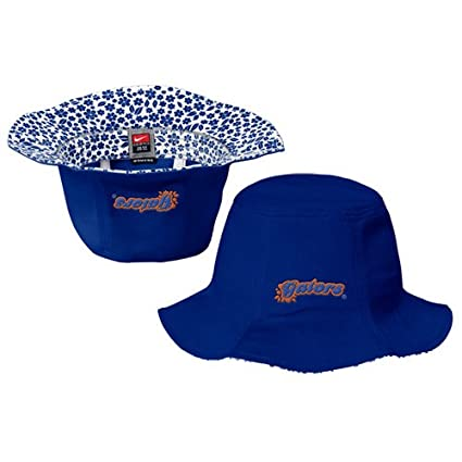 59940347bbd Amazon.com   NIKE Florida Gators Royal Blue Ladies Tulip Bucket Hat    Athletic Shirts   Sports   Outdoors