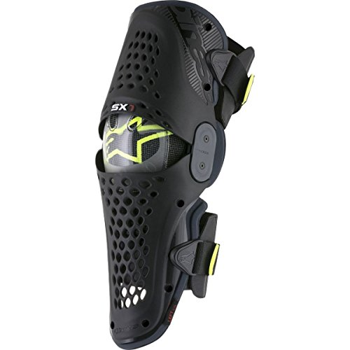 Alpinestars SX-1 Knee Guards-Black/Antracite-S/M by Alpinestars