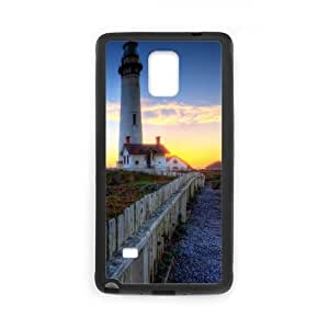 Samsung Galaxy Note 4 Case Image Of Lighthouse YGRDZ13946 Phone Case Cover Plastic Unique