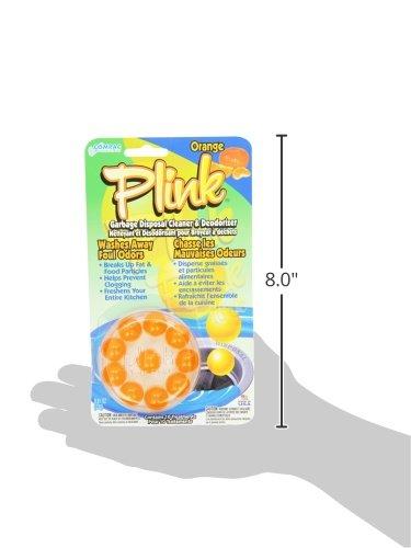 Compac Plink 10ct Orange Garbage Disposal Cleaner & Deodorizer (Pack of 12) by Compac (Image #3)